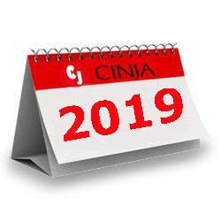 Calendario Cinja 2018